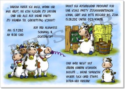 Witzige Einladungen Runder Geburtstag 30 40 50 60 Lustige